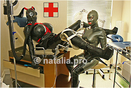 rubber-latex-doctor-doctress-nurse-matron-rubbernurse-headnurse-urologist-patient-clinic-rubberclinic-asylum-hospital-huge-silicone-fake-tits-gyno-chair-breath-respiration-control-reduction