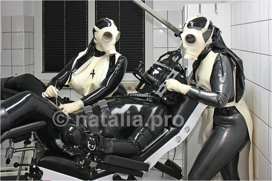 rubber-latex-doctor-doctress-nurse-matron-rubbernurse-headnurse-urologist-nun-patient-clinic-rubberclinic-asylum-hospital-huge-silicone-fake-tits-gyno-chair-gasmask-catheter