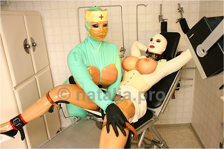 rubber-latex-doctor-doctress-nurse-matron-rubbernurse-headnurse-urologist-nun-patient-clinic-rubberclinic-asylum-hospital-huge-silicone-fake-tits-gyno-chair-bondage