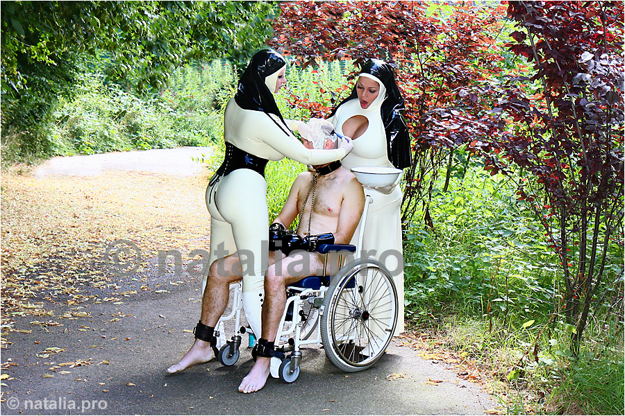 """nun-rubbernun-monastery-nunnery-abbess-mother-matron-superior-dungeon-cage-prison-jail-vacuum-vacuumbed-asylum-rubber-latex-lesbian-holy-order"""